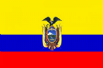 Ecuador Large Country Flag - 3' x 2'.